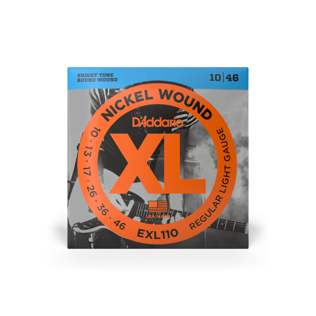 D'Addario Nickel Wound XL 10-46