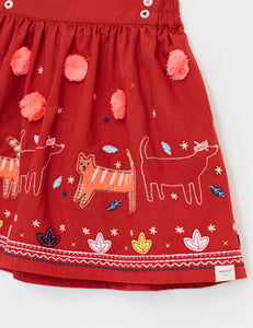 Stitch the Cat Woven Skirt