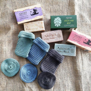 Irishmade Organic Cotton Soap Saver
