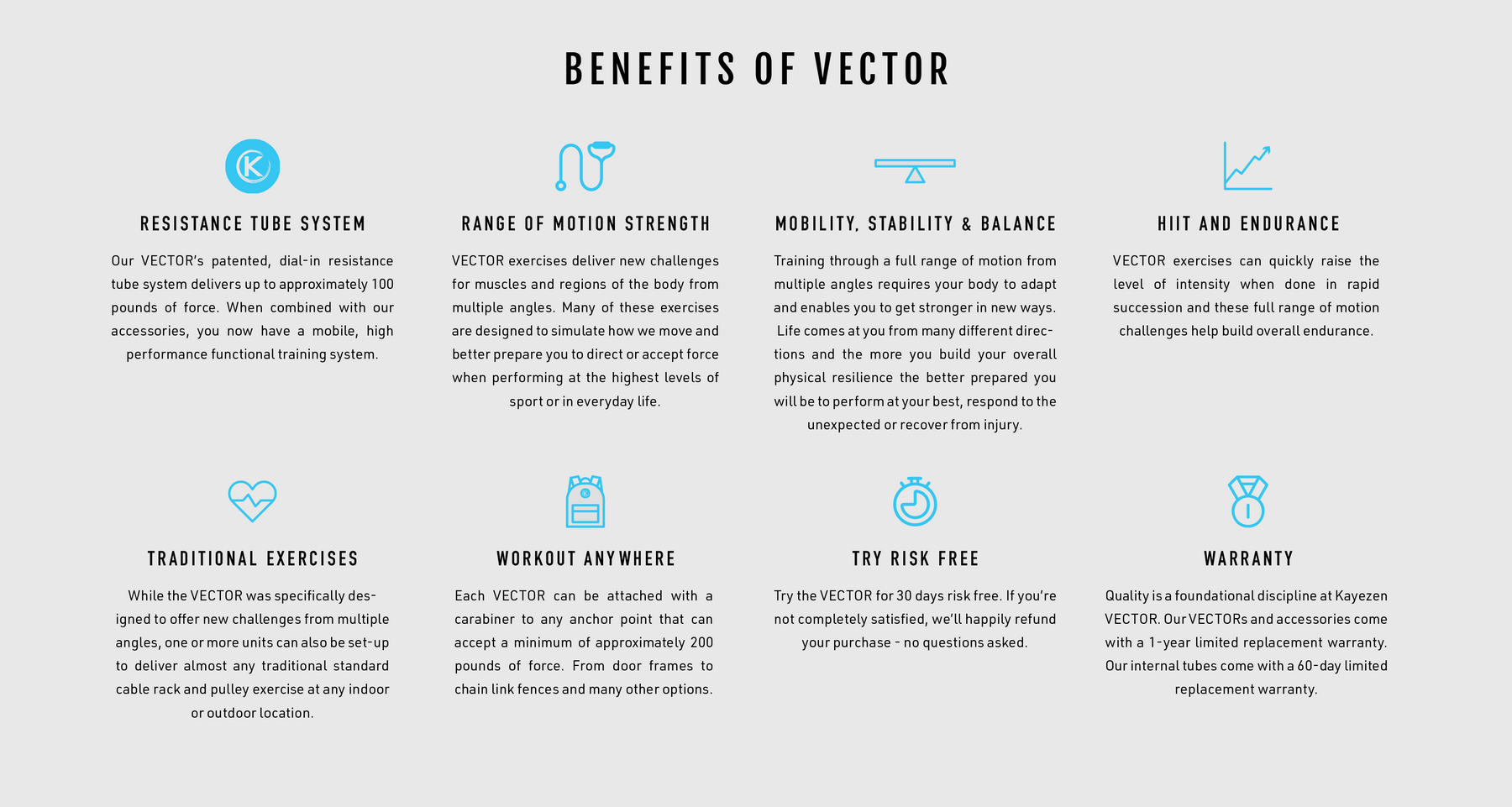 vector benefits