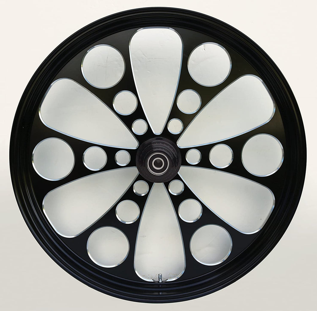 Ultima Kool Kat Black Front Touring Wheel