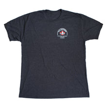 Load image into Gallery viewer, BA Machine Men's Dark Grey Logo T-Shirt