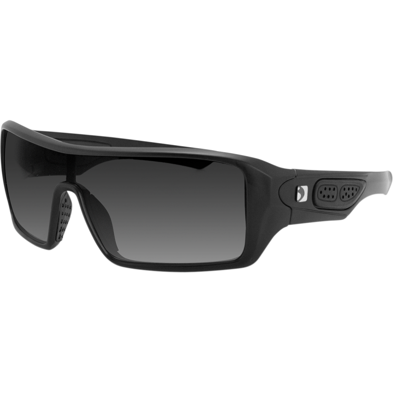 Bobster Paragon Matte Black Sunglasses w/Anti-Fog Smoked Lens