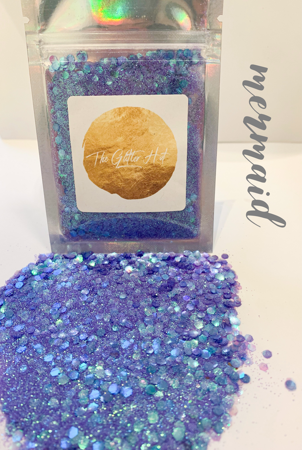 Chunky Fine Mixed 10g Glitter Bag - Mermaid