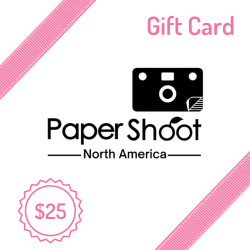 Paper Shoot Camera Gift Card