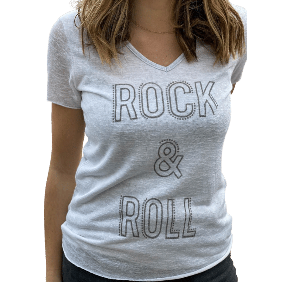 tee-shirt-rock-and-roll-blanc