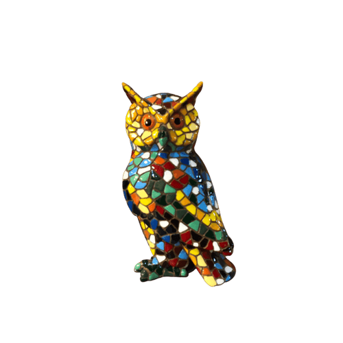 hibou-mosaique-face