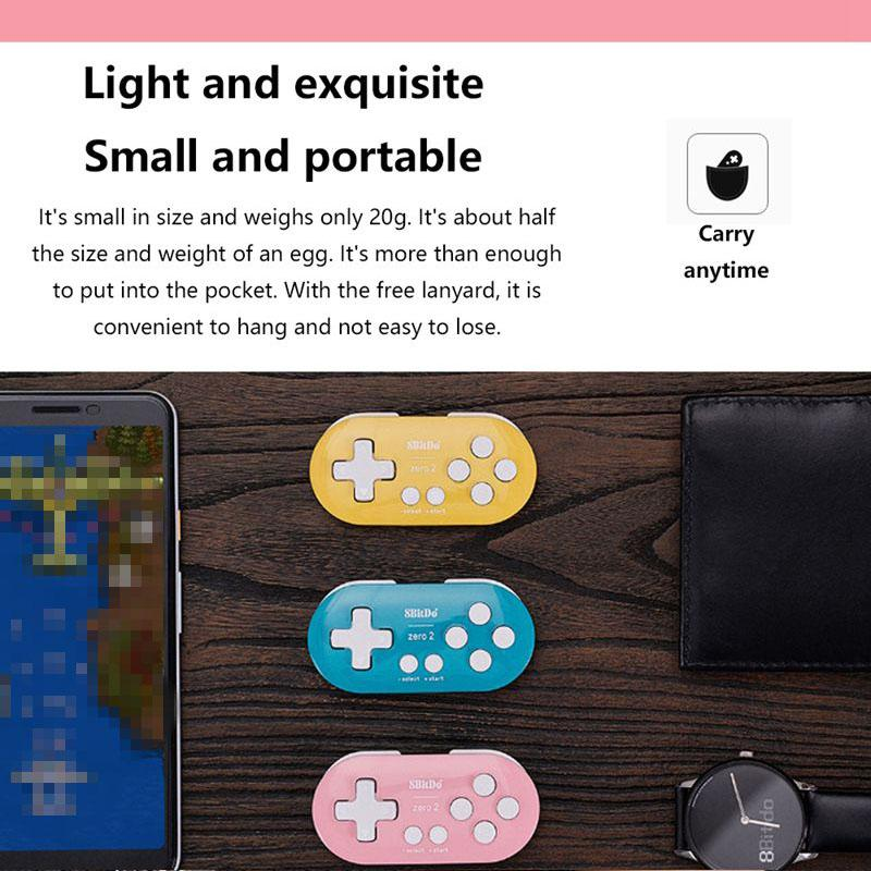 8BitDo Zero2 Bluetooth Gamepad