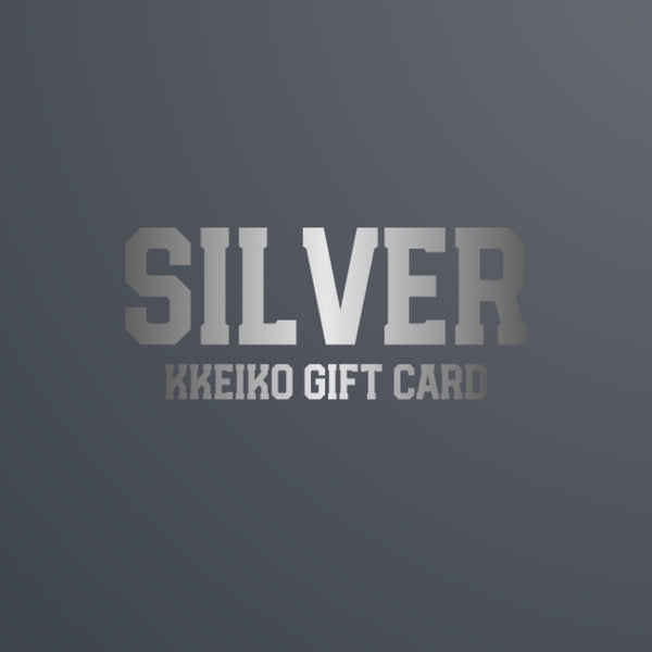 SILVER - GIFT CARD