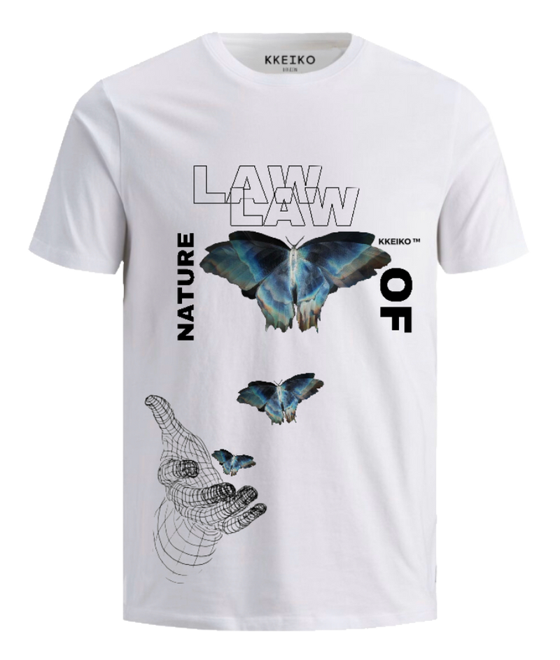 DOUBLE LAW T-SHIRT - WHITE