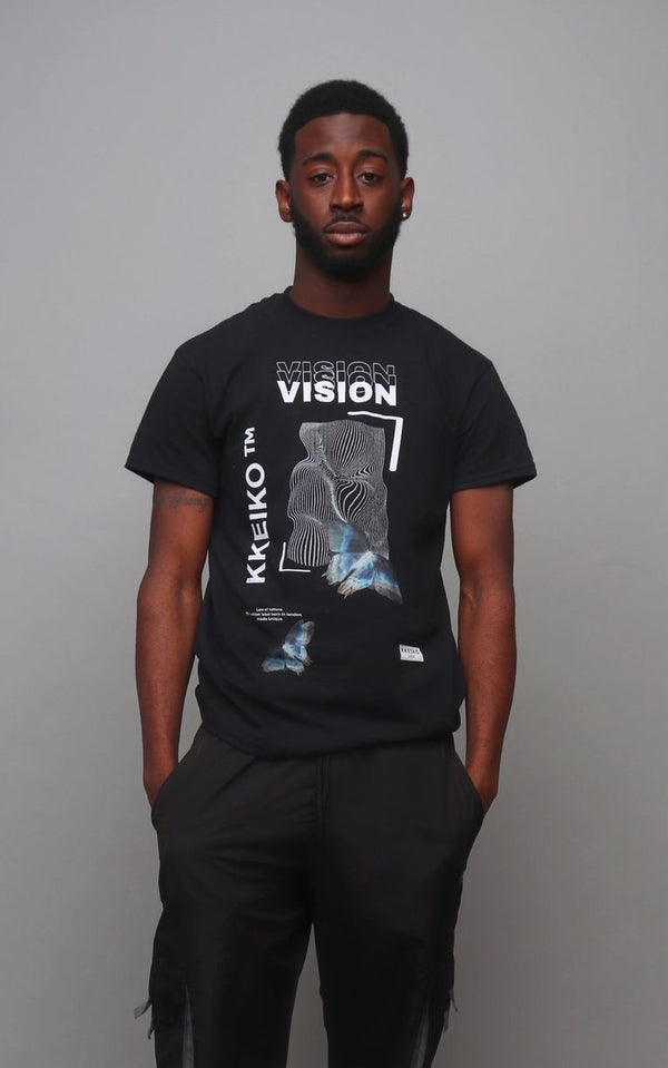 DARKNESS VISION T-SHIRT - BLACK