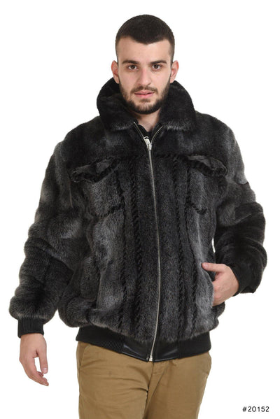 Exclusive Men's mink jacket - Manakas Frankfurt