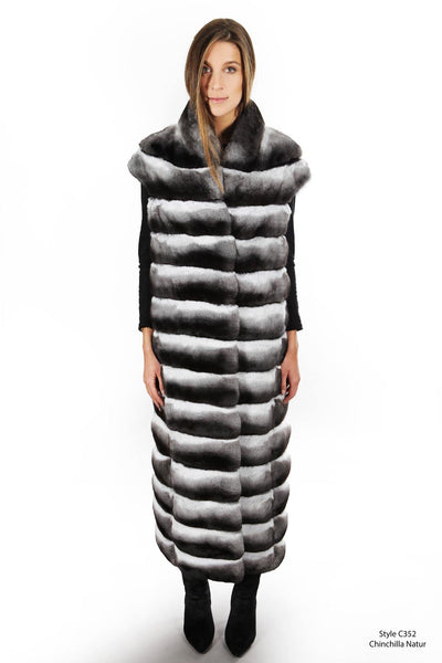 Chinchilla Long vest - Manakas Frankfurt