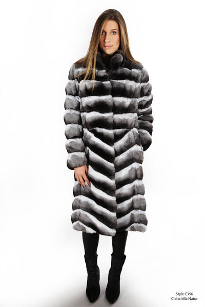 Chinchilla coat - Manakas Frankfurt