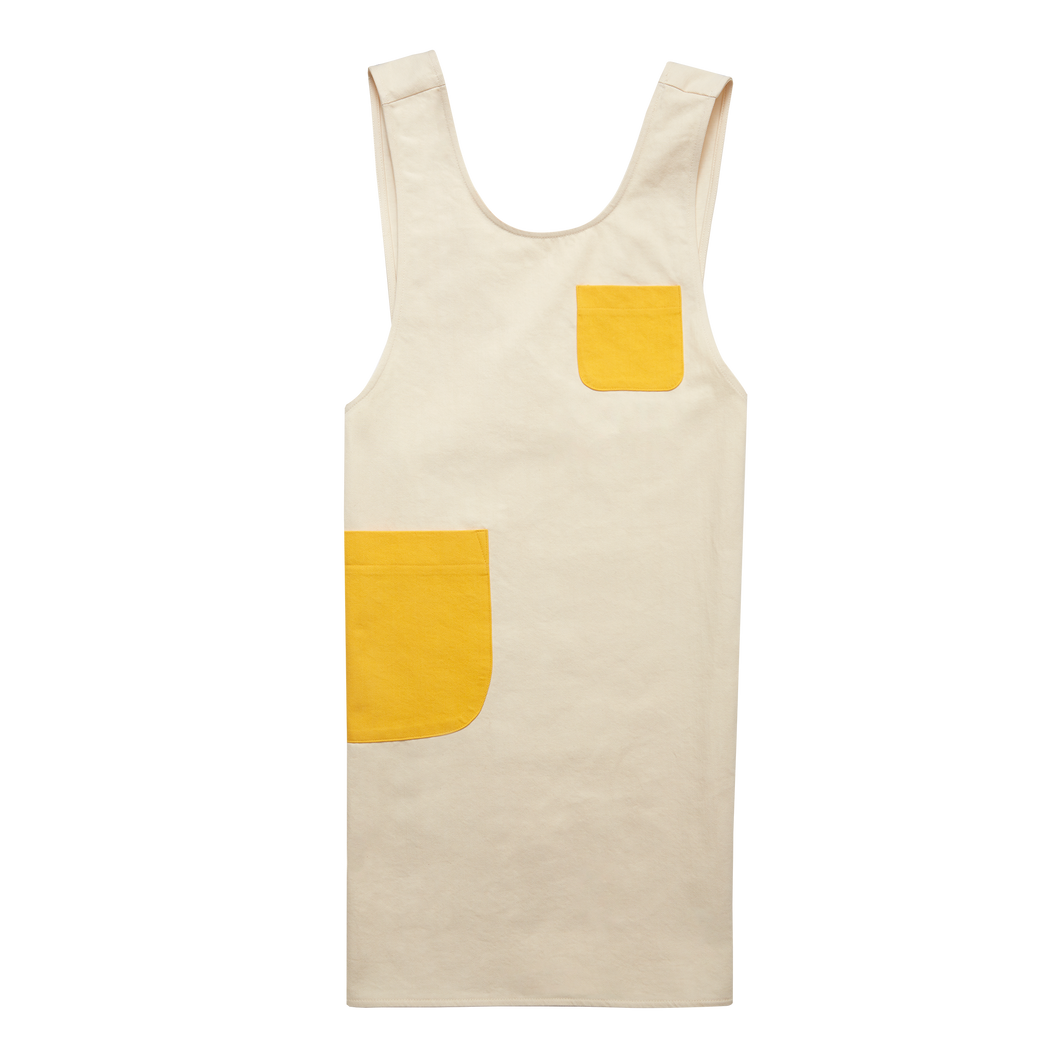The Apron - Colorblock Yellow