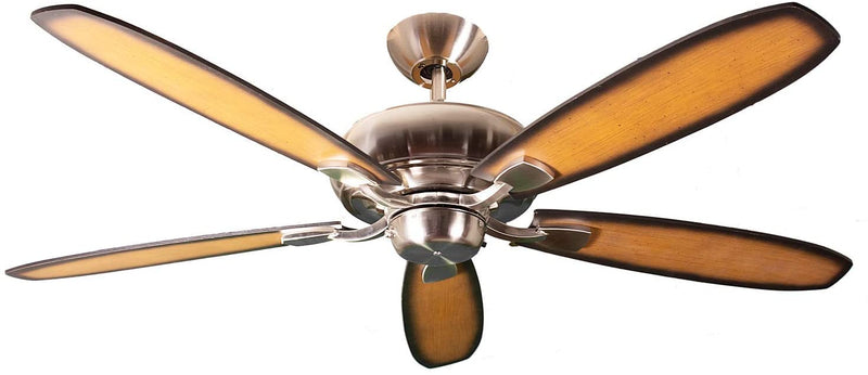 "SUN520 NK5CP/WL 52"" 5-Blade Nickel Fan with Reversible Blades"