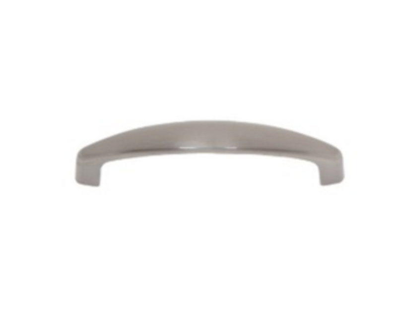 Teres Collection Satin Nickel 96 mm Slim Bow Pull- Knob