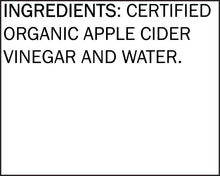 Load image into Gallery viewer, Organic Raw Unfiltered Apple Cider Vinegar 32oz