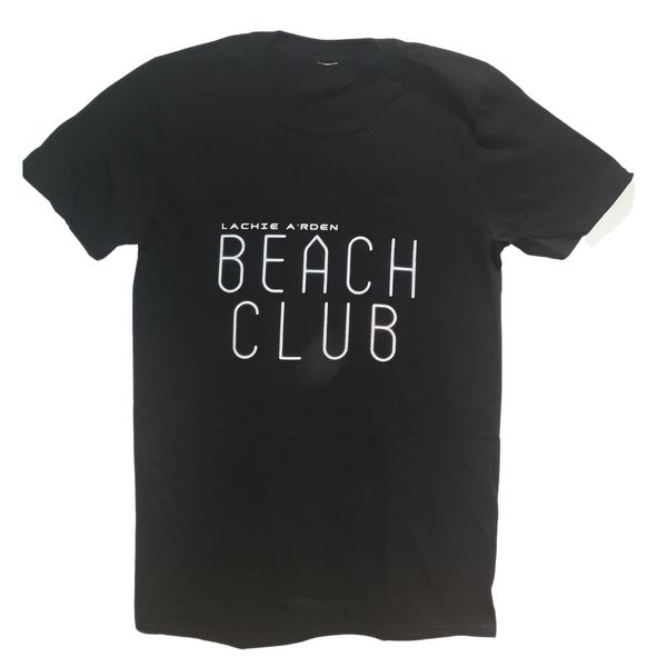 Lachie A'rden Beach Club Essential Crew Neck T-Shirt | Gildan Softstyle 64000