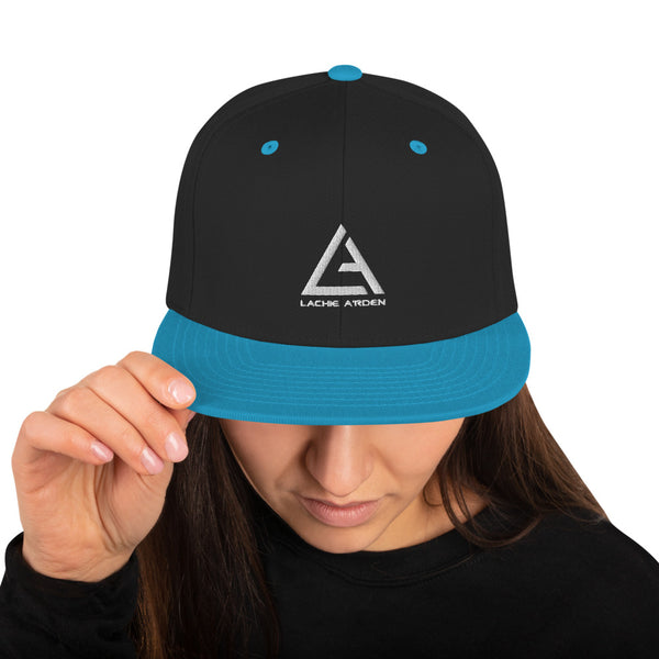 Lachie A'rden Snapback Hat - Name and Logo