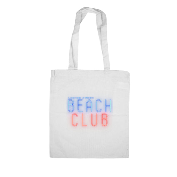 Lachie A'rden Beach Club Cotton Tote Bag