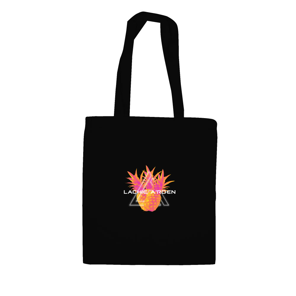 Lachie A'rden Pineapple Cotton Tote Bag | Record Bag