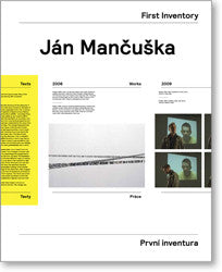 Ján Mančuška: First Inventory