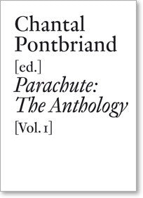 parachute the anthology vol iii photography film video and new media documents