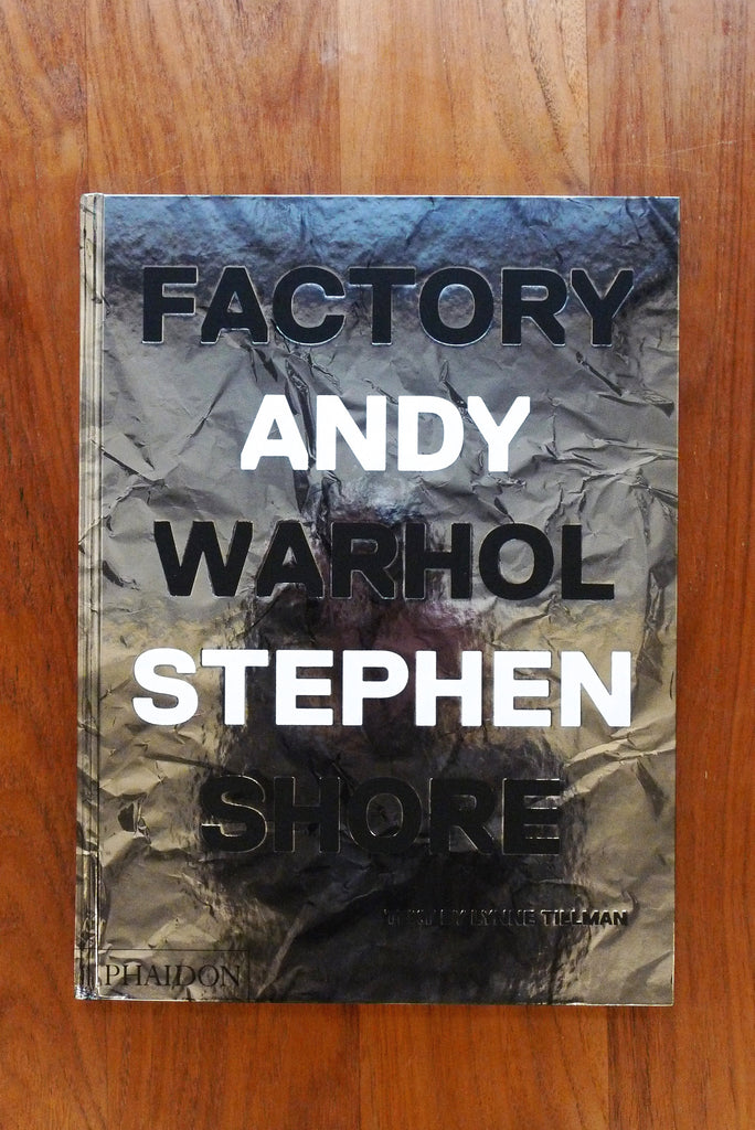 Stephen Shore - Factory Andy Warhol