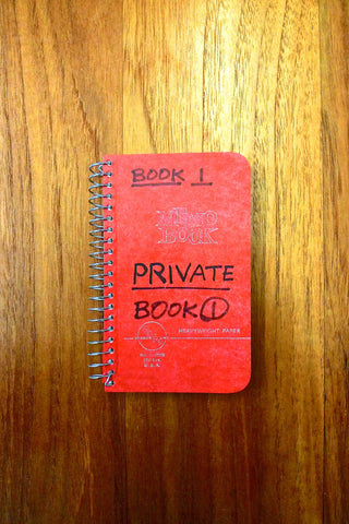 Lee Lozano – Private Book 1