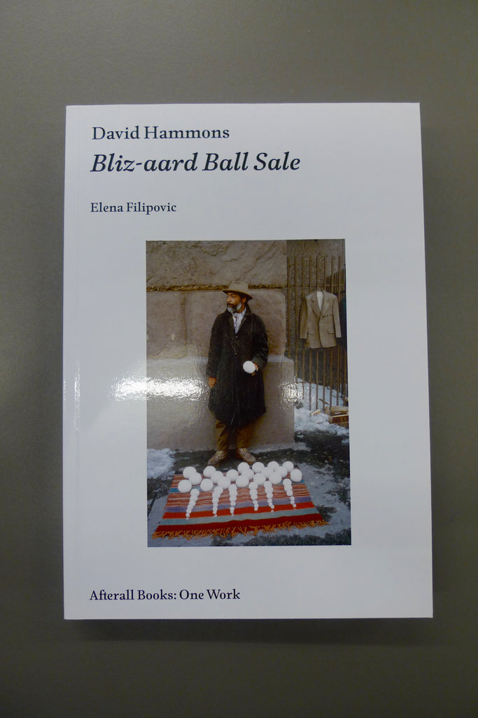 David Hammons — Bliz-aard Ball Sale