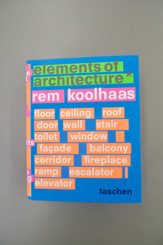Rem Koolhaas – Elements of Architecture