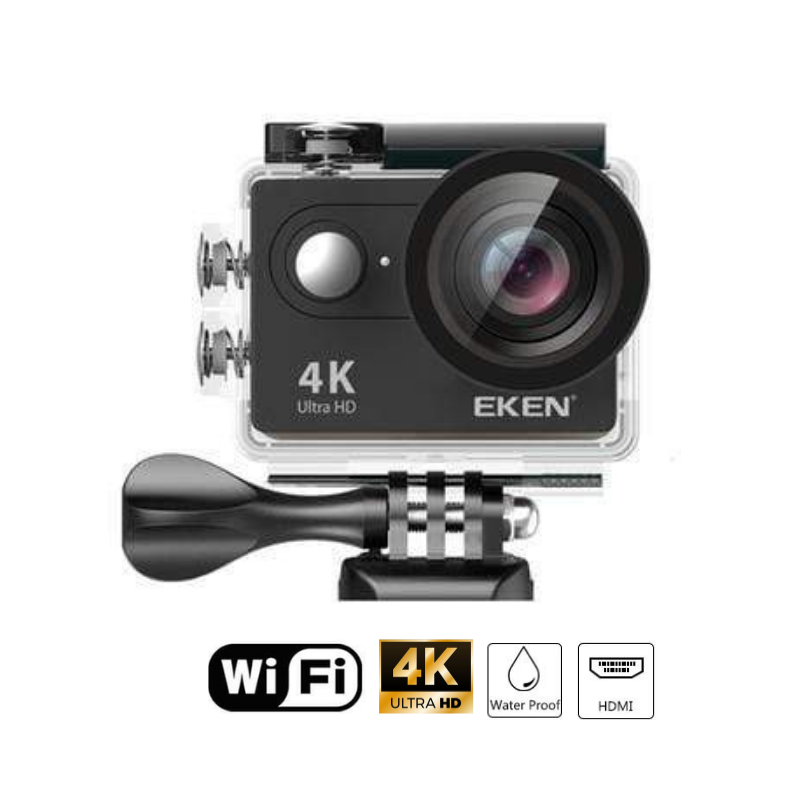 AquaSub™ 4K Action Camera (Accessories Included)