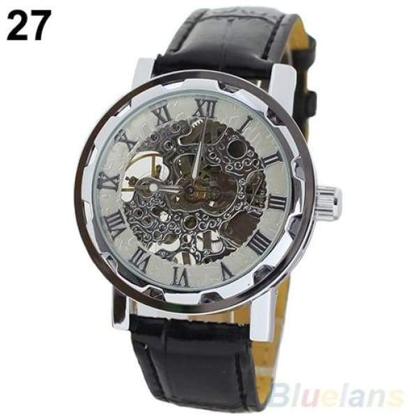 Classic Skeleton Townsman Mechanical Watch - mens watches
