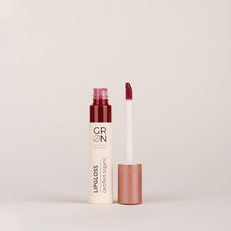 lipgloss red plum