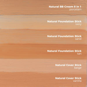 foundation stick tan