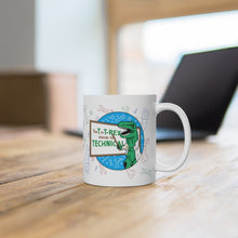 Load image into Gallery viewer, Whiteboard T-Rex - White Mug 11oz
