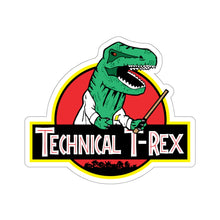 "Load image into Gallery viewer, Technical T-Rex - 6"" Sticker"