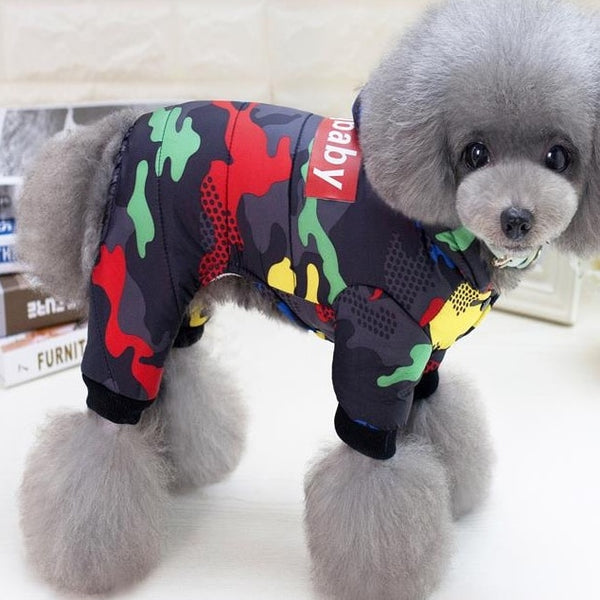 Pet Dog Clothes Winter Warm Dog Windproof Coat Thicken Pet Clothing For Dogs Costume Jumpsuit Hoodies Jacket Pet Supplies perros