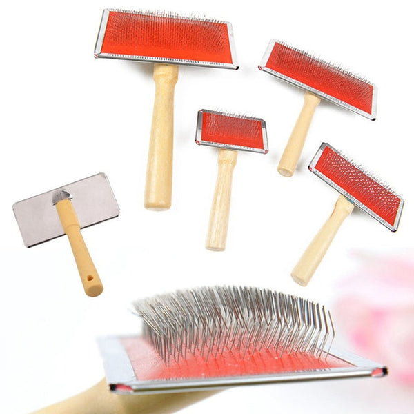 High Quality Pet Dog Needle Comb Puppy Cat Hair Gilling Beauty Bath Massage Grooming Comb Brush Pet Cleaning Supplies
