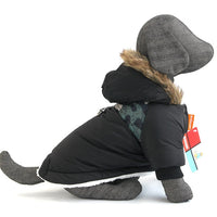 Warm Winter Pet Dog Clothes For Small Dogs Pets Puppy Costume French Bulldog Outfit Coat Waterproof Jacket Chihuahua Clothing