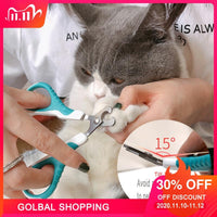 Pet Nail Claw Cutter Stainless Steel Grooming Scissors 1pc Cats Nails Clipper Trimmer Dog Nail Clippers Pet Claw Nail Supplies