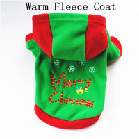 Christmas Dog Clothes For Dog Pet Xmas Costumes Winter Coat Clothing Puppy Outfit french bulldog ropa para perro pug chihuahua