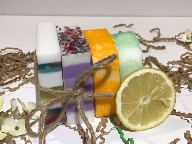 Handmade soap set