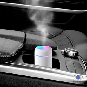 Ultrasonic USB Air Humidifier & Aroma Diffuser with Night Light