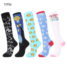 Load image into Gallery viewer, Women's Cotton Knee High Socks