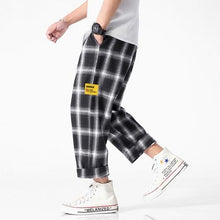Load image into Gallery viewer, Men's Joggers Plaid Pants - Music Massacre