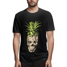 Load image into Gallery viewer, Men's Skull Pineapple T-Shirt