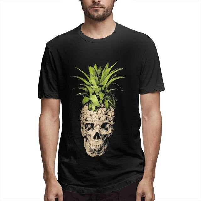 Men's Skull Pineapple T-Shirt