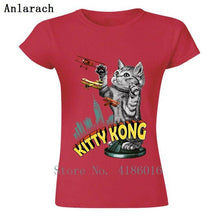Load image into Gallery viewer, Women's Kitty Kong T-Shirt